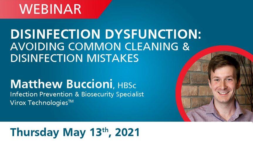Disinfection Dysfunction Webinar